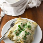 Chicken Enchiladas with Tomatillo Sauce | Taming of the Spoon