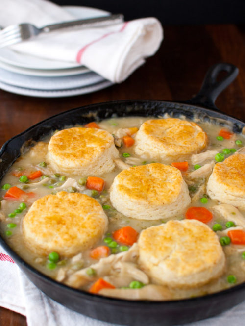 Chicken Pot Pie | tamingofthespoon.com