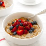 Crockpot Steel-cut Oatmeal | tamingofthespoon.com