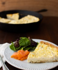 Potato and Boursin Frittata