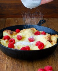 Pear Dutch Baby Pancake