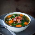 Swiss Chard Soup | tamingofthespoon.com