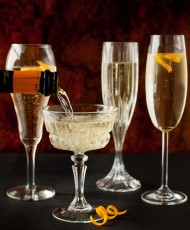 Italian Cocchi and Prosecco Cocktail