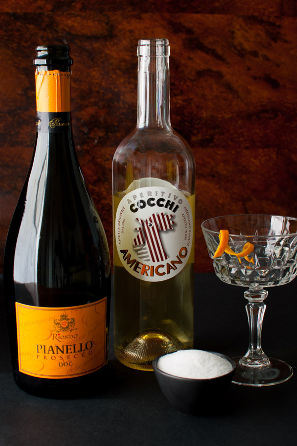 Italian Cocchi and Prosecco Cocktail | tamingofthespoon.com