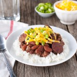 Red Beans and Rice | tamingofthespoon.com