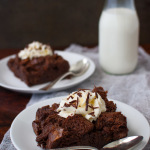 Chocolate Bread Pudding | tamingofthespoon.com