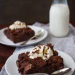 Chocolate Bread Pudding | tamingofthespoon.com