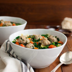 Italian Wedding Soup | tamingofthespoon.com