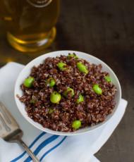 Red Quinoa and Edamame