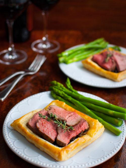 Beef Wellington Tart | tamingofthespoon.com
