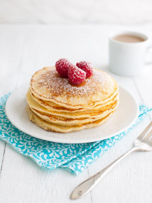 Lemon Souffle Pancakes | tamingofthespoon.com