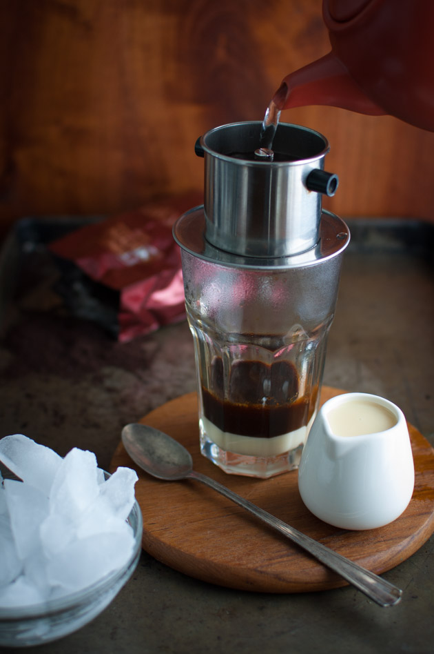 Vietnamese Iced Coffee - authentic Vietnamese coffee brewed with a ...
