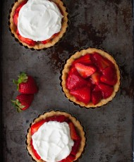 Individual Fresh Strawberry Pies