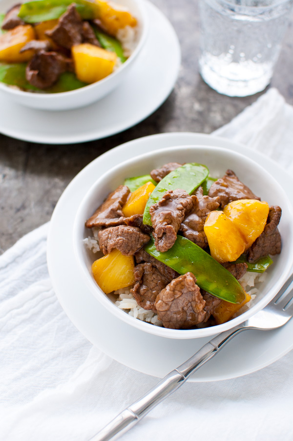 Beef with Pineapples and Snow Peas | Super Easy And Flavorful Stir Fry Recipes | Homemade Recipes