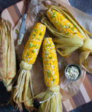 Grilled Corn with Southwest Butter