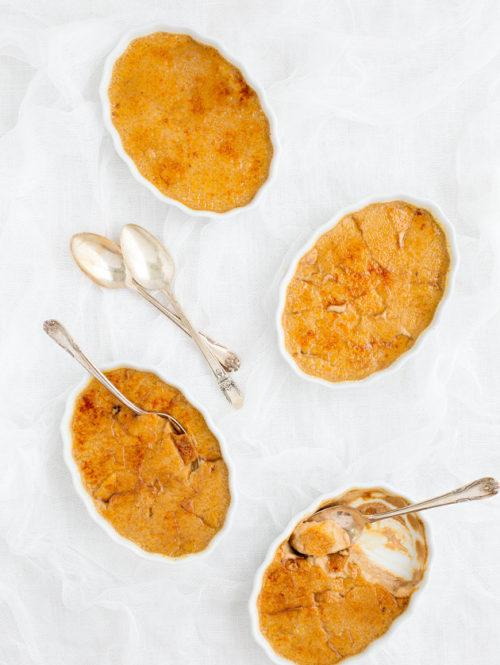 Pumpkin Spice Latte Crème Brûlée