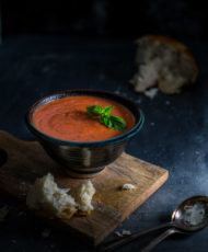Easy Tomato-Basil Soup