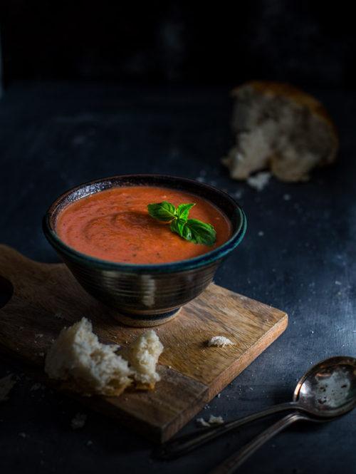 Easy Tomato-Basil Soup