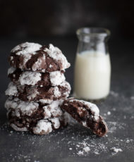 Gluten-Free Deep Dark Chocolate Cookies