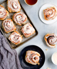 Edith's Cinnamon Rolls with Browned Butter Icing