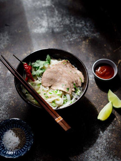 Lemongrass Beef and Noodle Soup