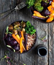 Winter Vegetable Grain Bowls