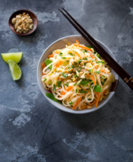 Chicken and Veggie Pad Thai