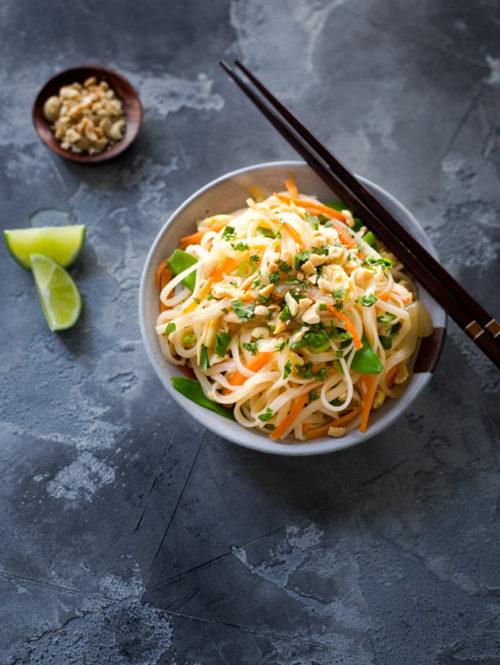 Chicken and Veggie Pad Thai