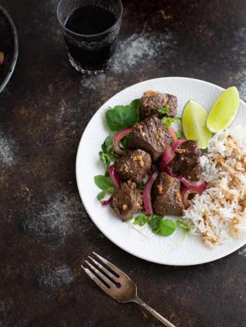 Vietnamese Shaking Beef (Bò Lúc Lắc)
