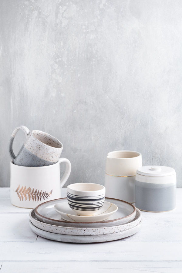 Ceramics by Abbie Preston of Box Sparrow Studio